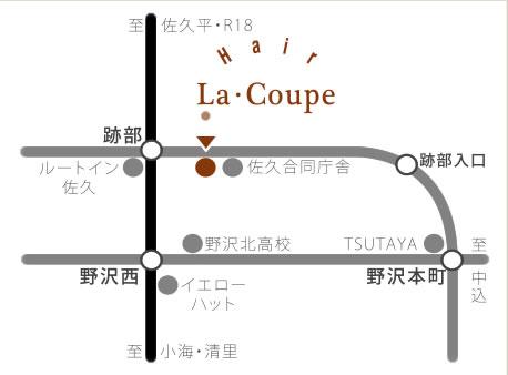 佐久平店の地図